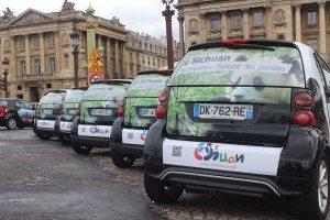 Campagne de publicité sur 200 voitures Smart