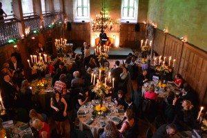 Diner de gala lors du fam trip Inverness