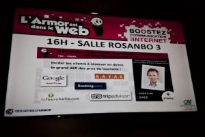 KAYAK contribution during Web local CCI Côtes d'Armor event