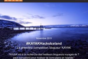 KAYAK lance un concours pour les bloggeurs