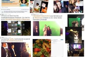 Communication autour de l'évènement sur les réseaux sociaux
