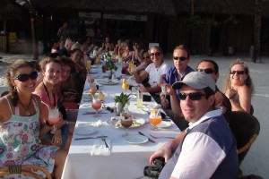 Happy participants during Mega Fam Trip !