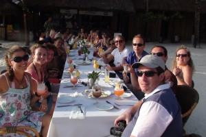 Les heureux participants au Méga Fam trip !