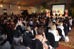 Workshop organisé à Manille lors du Méga Fam trip