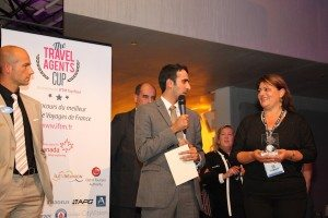 Travel Agent Cup event prize award