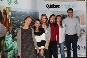 Tour Operator representatives with Destination Québec office in Paris