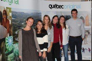 Des représentants de Tour Opérateur avec l'équipe du Bureau Destination Québec à Paris