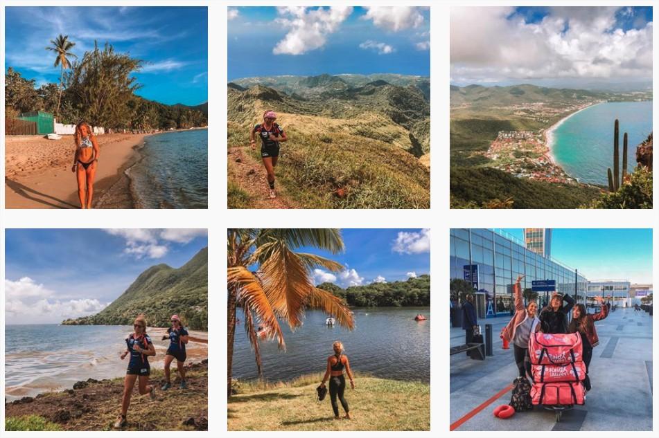 Anne&Dubndidu - a sports influencer in Martinique