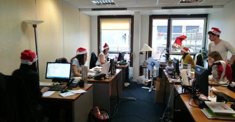 Christmas Spirit at Interface Tourism !
