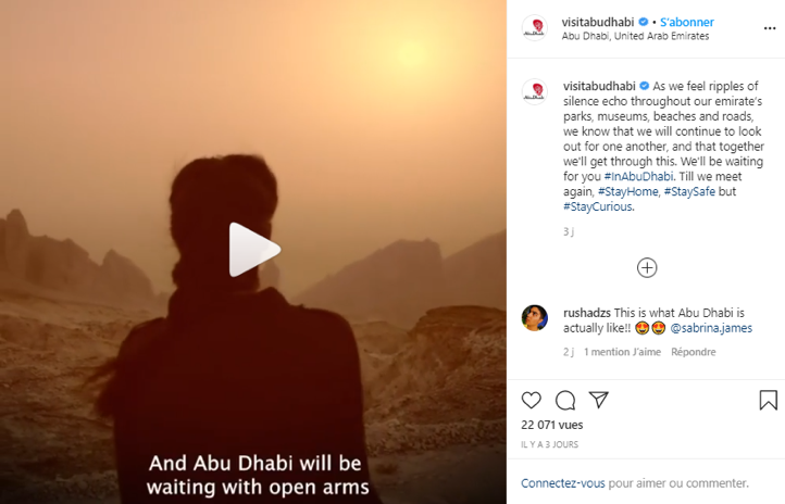 Abu Dhabi social media